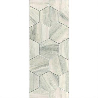 Керамическая плитка KERAMIN Миф 7 200х500 мм белая матовая