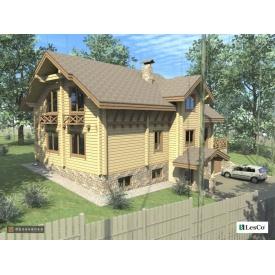 Проект деревянного дома 370 м2