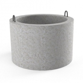 Бетонное кольцо для колодцев 80 мм