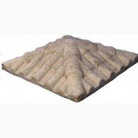 Крышка столба Харьковпрофбетон Skala 450х450 мм песочный