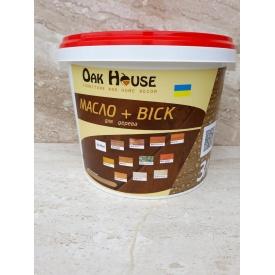 Масло-воск Oak House 3 л белый