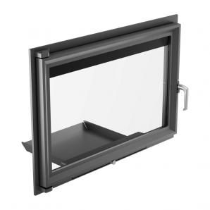 Дверцята Kratki OLIWIA з прямим склом 738х515 мм