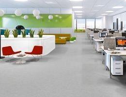 Как подобрать линолеум для офиса?