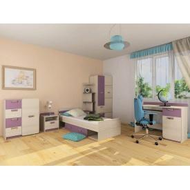 Детская спальня Jasmine Blonski №2 дсп светлый коимбра-фиалка