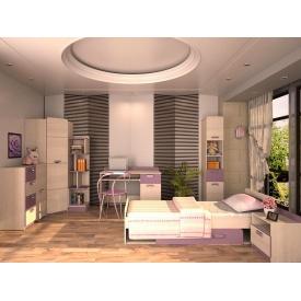 Детская спальня Jasmine Blonski №3 дсп светлый коимбра-фиалка