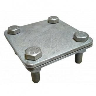 Затискач гарячооцинкований смуга/смуга 40 мм