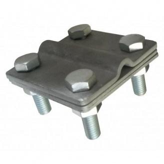 Затискач гарячооцинкований смуга/дріт 8 мм