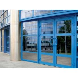 Алюмінієва фасадна конструкція 6000x6000 см