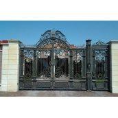 Кованые ворота премиум