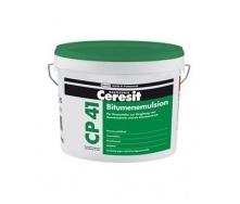 Бітумно-полімерна емульсія для грунтування і гідроізоляції Ceresit CP 41 10 кг