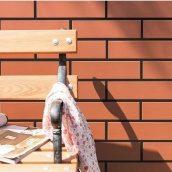 Фасадная плитка клинкер Paradyz NATURAL ROSA 24,5x6,6 см