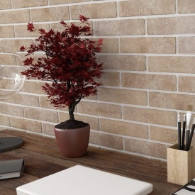 Плитка Golden Tile BrickStyle Baker Street lightbeige 60х250 мм (22V020)