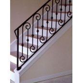 Изготовление ограждения для лестницы по варианту №5