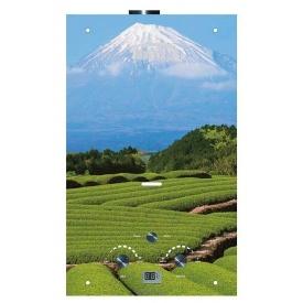 Газовый проточный водонагреватель Martix 20 кВт 10 л/мин принт гора Фудзияма стекло
