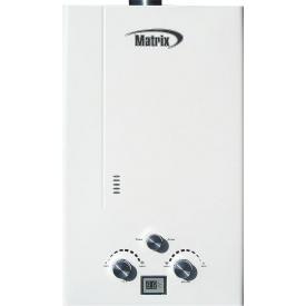 Газовый проточный водонагреватель Martix JSD 20-18 20 кВт 10 л/мин белая