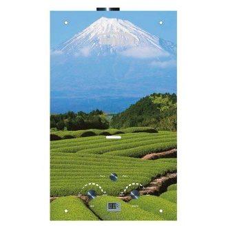Газовий проточний водонагрівач Martix 20 кВт 10 л/хв принт гора Фудзіяма скло
