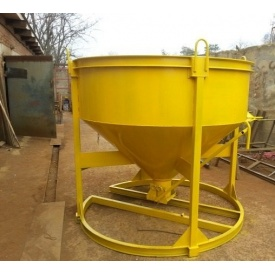 Бадья для раствора и бетона 0,75 м3