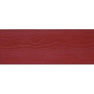 Фиброцементная доска CEDRAL Lap С61 3600х190х10 мм красная земля
