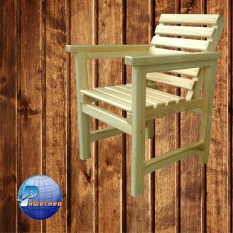 Крісло з натурального дерева