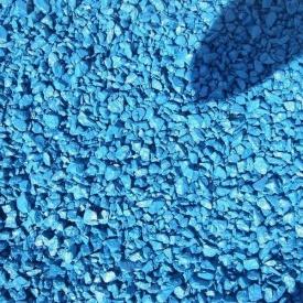 Декоративный щебень Topiar фракция 5-15 мм 25 кг синий
