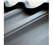 Металочерепиця Тайл Модерн матполіестер 1195x350x53 мм сірий