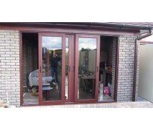 Двері розсувні ROTO PATIO металопластикові WDS 7 SERIES 1530x2355 см