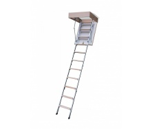 Горищні сходи Bukwood Compact Metal 110х70 см
