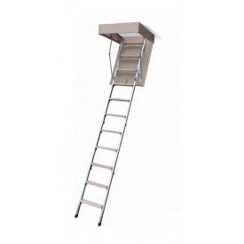 Горищні сходи Bukwood ECO Metal Mini 100х70 см