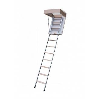 Чердачная лестница Bukwood Compact Metal 120х80 см