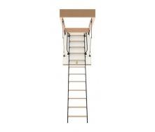 Чердачная лестница Bukwood Luxe Metal Mini 90х80 см