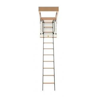 Чердачная лестница Bukwood Luxe Metal ST 110х80 см