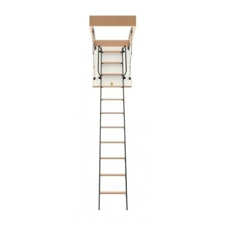 Чердачная лестница Bukwood Luxe Metal ST 120х80 см