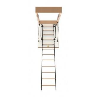 Чердачная лестница Bukwood Luxe Metal Mini 90х90 см
