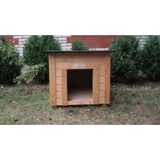 Собачья будка Рекс-М 60х70 см из вагонки