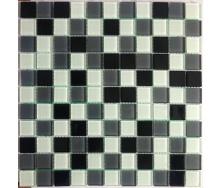 Скляна мозаїка Керамік Полісся Grey Mix S 300х300х4 мм