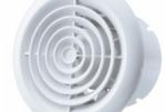 Настінні і стельові вентилятори