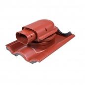 Проходной элемент VILPE SOLAR TIILI 440х330 мм красный