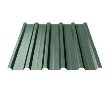 Профнастил Ruukki Т35 Polyester Matt 31 мм темно-зелений