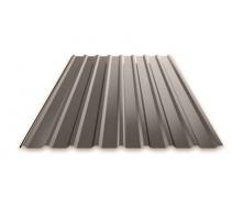 Профнастил Ruukki Т15 Polyester Matt фасадний 13,5 мм темно-коричневий