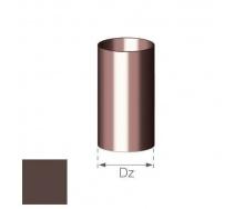 Труба Gamrat 90 мм 3 м коричневая
