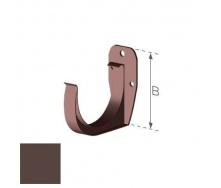 Держатель желоба Gamrat 150 мм коричневый