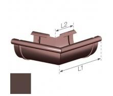 Внешний угол Gamrat 125 мм коричневый