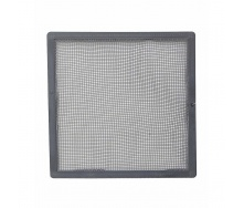 Сітка зовнішньої вентиляційної решітки VILPE 150х150 мм сіра