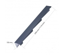 Торцевая планка Evertile Evertech G2 правый/левый FT/R/L 1110 мм