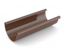 Желоб водосточный Bryza 125 мм 3 м коричневый