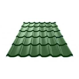 Металочерепиця Ruukki Monterrey Polyestеr 0,5 мм зелений