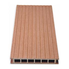 Террасная доска Gamrat брашированная 25х160х2400 мм светло-коричневый
