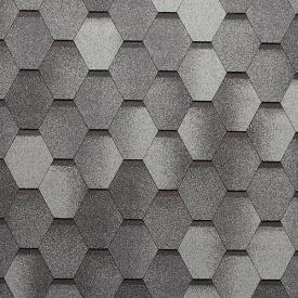 Бітумна черепиця Tegola Super Mosaic 1000х337 мм альпійський сланець