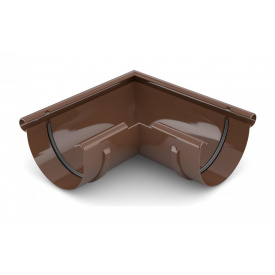 Кут зовнішній 90 градусів Bryza 150 коричневий