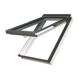 Мансардное окно FAKRO PPP-V U3 preSelect наклонно-вращательное 78x118 см